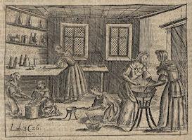 Confection de confiture au XVIIe siècle